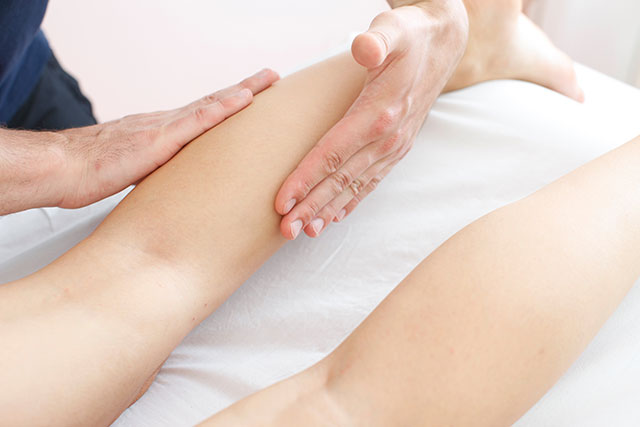 Behandlung Massage